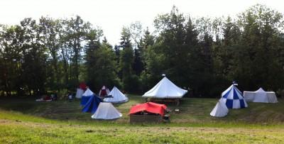 Notre camp à Andilly en 2012