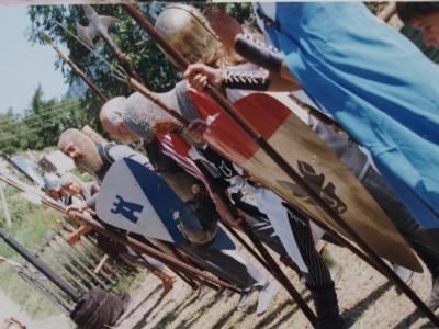 A la Batiaz en 1999