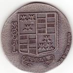 Médaille de Soual, côté 1