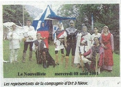 Le Nouvelliste, 8 août 2001