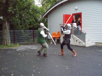 Combat à la Villa Yoyo