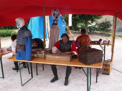 Nos artisans en pleine action