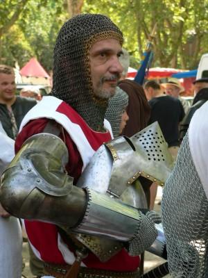 Quel beau chevalier !