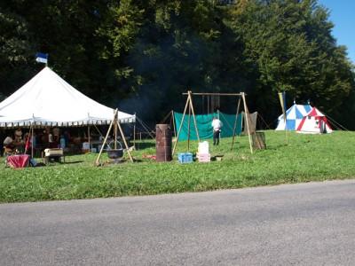 Le camp à Puidoux