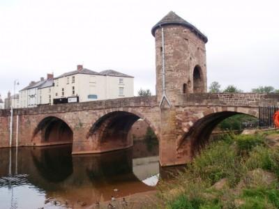 Pont de Monnow: vue d'ensemble