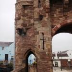 Pont de Monnow: une des portes piétonnes