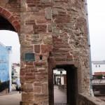Pont de Monnow: l'autre porte piétonne
