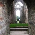 Vue du transept depuis la porte basse nord