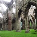Vue depuis le transept sud vers le transept nord
