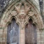 Les 2 portes ouest vues depuis l'extérieur