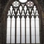 Fenêtre principale au-dessus des portes, façade ouest