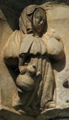 Sculpture à Matebo, première moitié du XIVème
