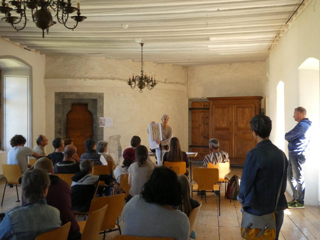 Conférence sur l'histoire de la fauconnerie